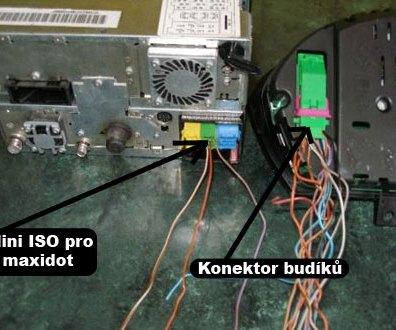 Druhy navigací Škoda Auto DX maxidot a budíky