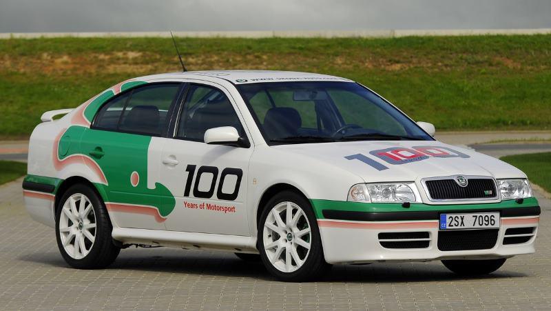 Octavia RS WRC sportovní