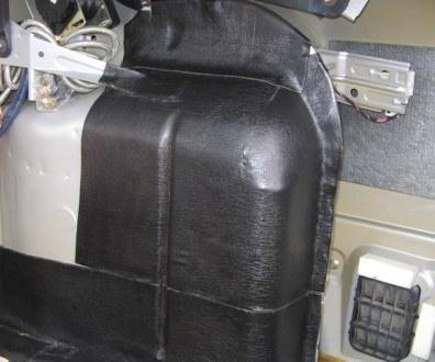Tlumení kufru vibraflexem Škoda Octavia 12