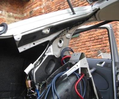 Tlumení kufru vibraflexem Škoda Octavia 19