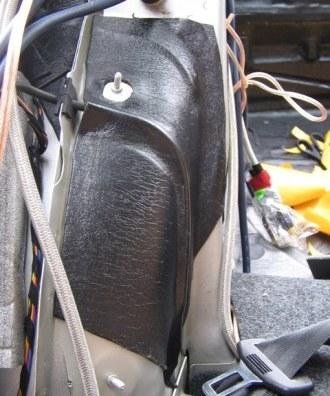 Tlumení kufru vibraflexem Škoda Octavia 25