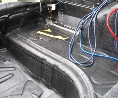 Tlumení kufru vibraflexem Škoda Octavia 36