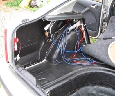 Tlumení kufru vibraflexem Škoda Octavia 44