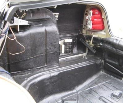 Tlumení kufru vibraflexem Škoda Octavia 46