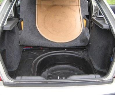 Tlumení kufru vibraflexem Škoda Octavia 49