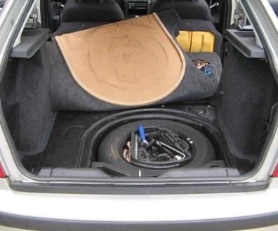 Tlumení kufru vibraflexem Škoda Octavia 51