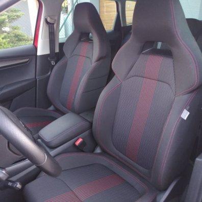 Přední sedadla Škoda Karoq