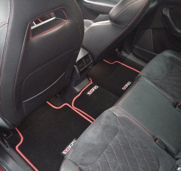 Interiér zadní sedadla Kodiaq RS