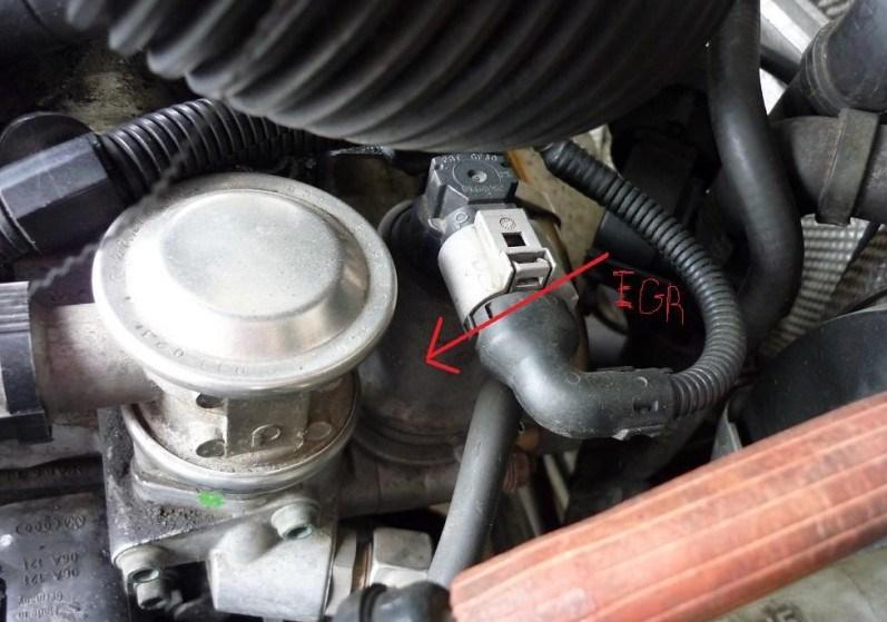 Zaslepení EGR ventilu postup návod 1