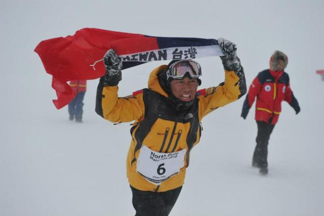 participante North Pole Marathon_viento y frío_© Mike King_4