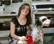 Ashley W. with Sage- Hazel x Chaco