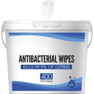 Antibacterial Disinfecting Wipes Jumbo Bucket