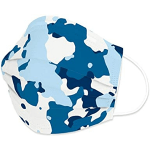 Disposable Protective Face Mask 50ct Box – Winter Camouflage