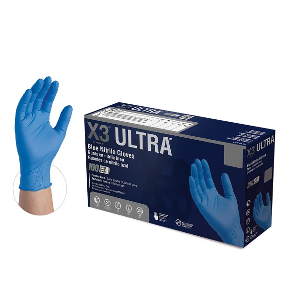 x3-ultra-blue-nitrile-gloves