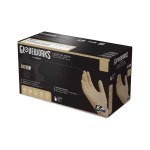 Gloveworks Industrial Ivory Latex Gloves Case of 5