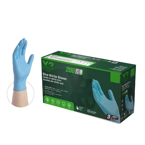 X3-nitrile gloves-200