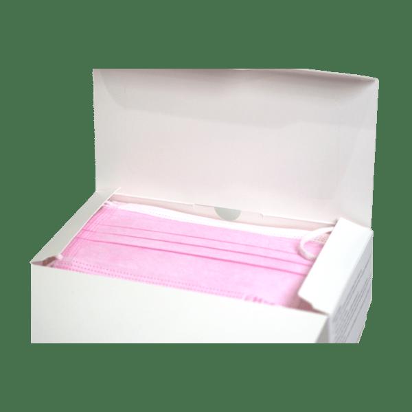 lhm-procedure-mask-pink-box-open-front