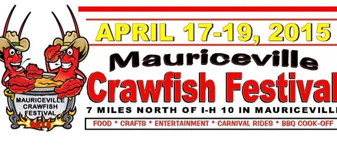 Mauriceville Crawfish Festival kicks off April 17