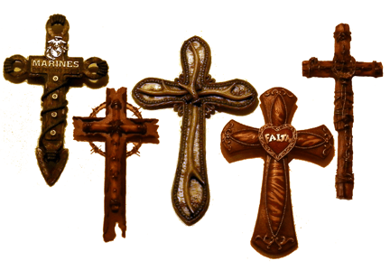Judy's Boutique has a variety of wall crosses
