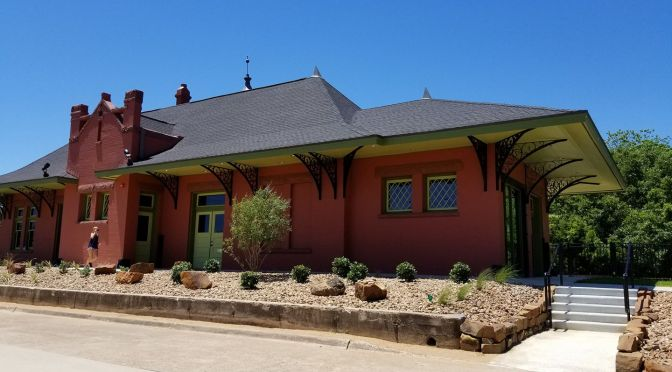 Open House at the Orange Train Depot