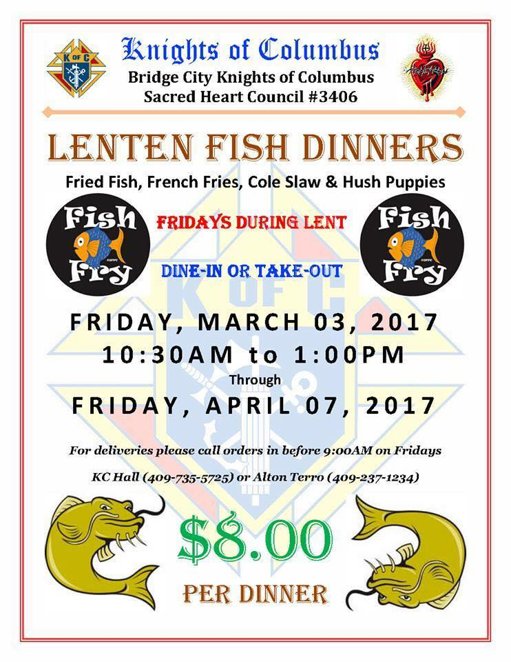 BC Knights of Columbus Fish Fry