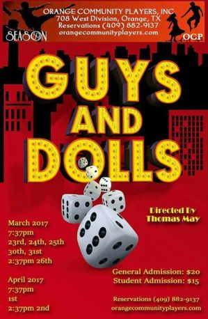 Guys and Dolls at OCP