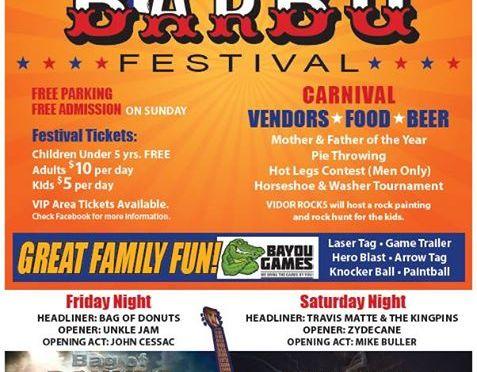 2017 Vidor BBQ Festival