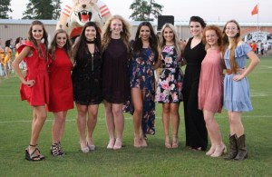 Orangefield Homecoming Court 2017