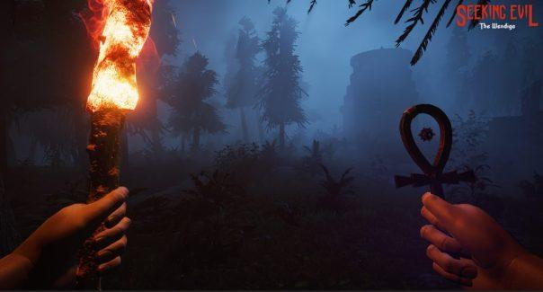 Seeking Evil: The Wendigo game screenshot courtesy Steam