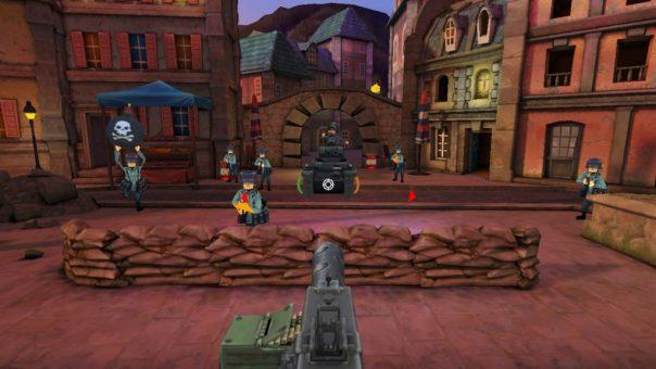 World War Toons: Tank Up! game screenshot courtesy Oculus Store