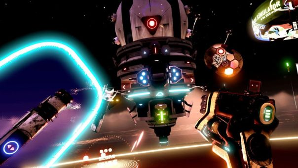Space Pirate Trainer game screenshot courtesy Steam