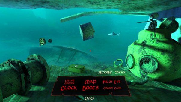 Sunken game screenshot courtesy Oculus