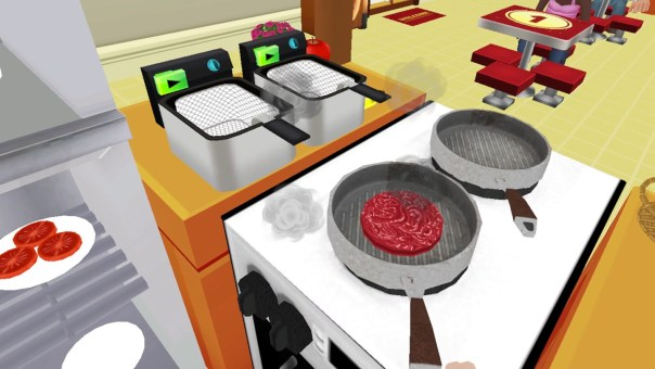 The Cooking Game VR - screenshot courtesy Oculus