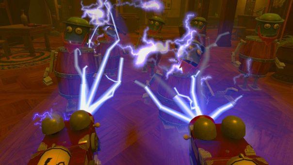 Seek & Destroy - Steampunk Arcade - screenshot courtesy Steam