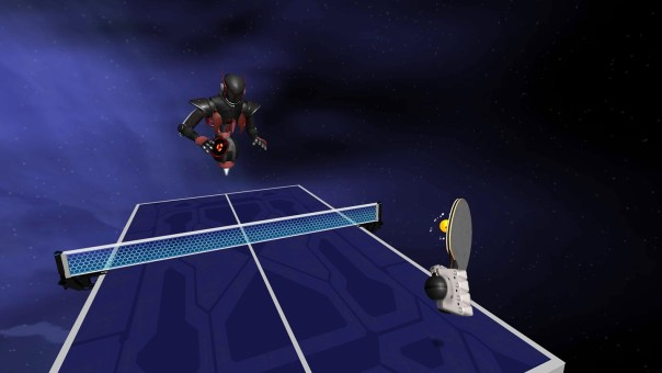 Racket Fury - screenshot courtesy Oculus