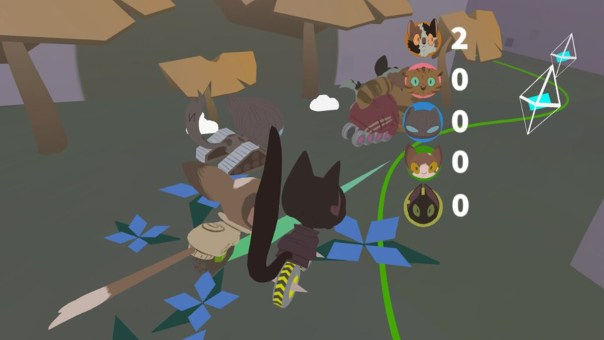 Cat 'S' Tropy - screenshot courtesy Oculus
