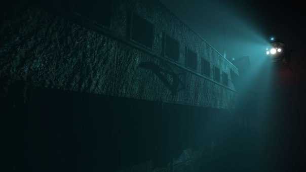 Titanic VR game screenshot courtesy Steam