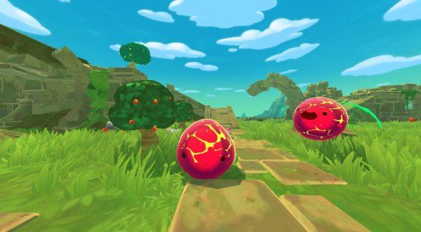 Slime Rancher: VR Playground game screenshot courtesy Steam