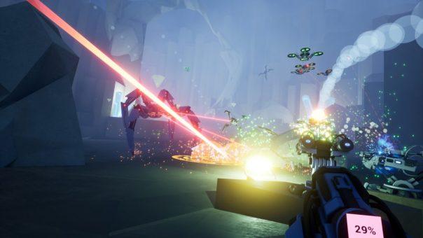 Voronium - Locust Sols game screenshot courtesy Steam