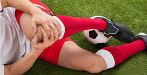 bone marrow treatment due to sports knee injury