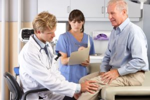 doctor's consultation for pain relief