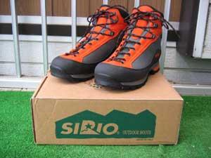 登山靴(SIRIO 40-GTX)