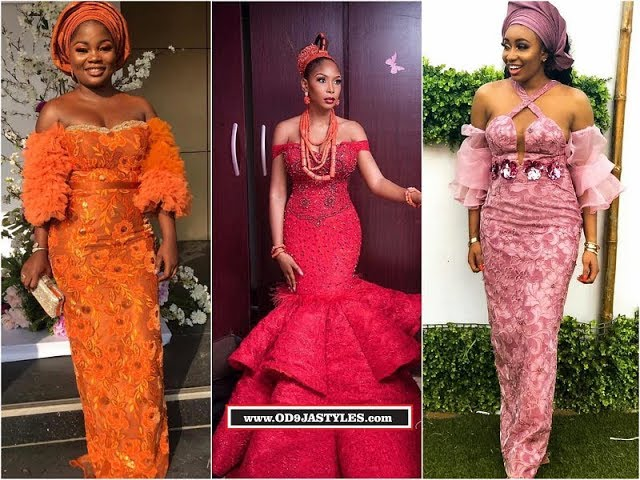 Latest Creative Aso Ebi Designs 2019: Beautiful For Ladies