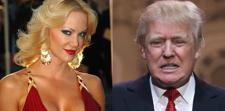 Playmate and Trump