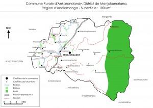 Carte Ankazondandy