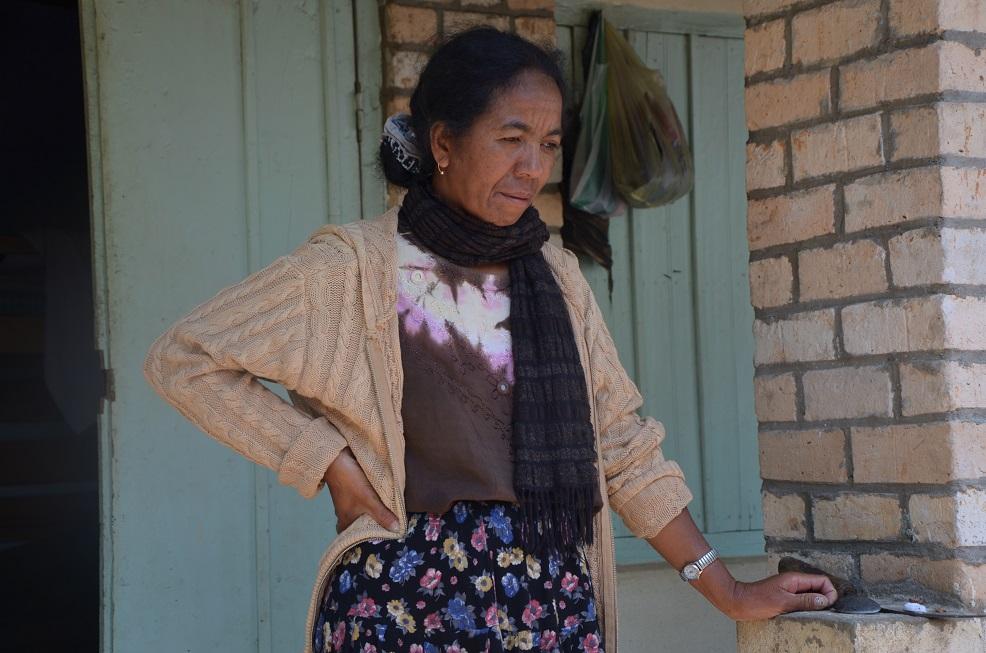 Joséline, animatrice sociale du centre Patrakala géré par ODADI;