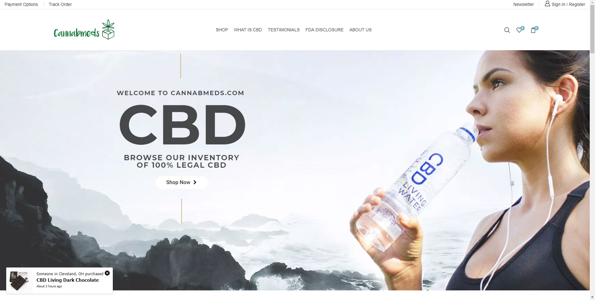 CBD Website Development Client Cannabmeds
