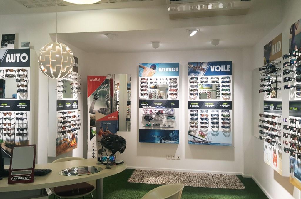 Nos opticiens spécialisés à Saint Paul centre ville sauront vous conseiller selon vos besoins et vos activité sportives