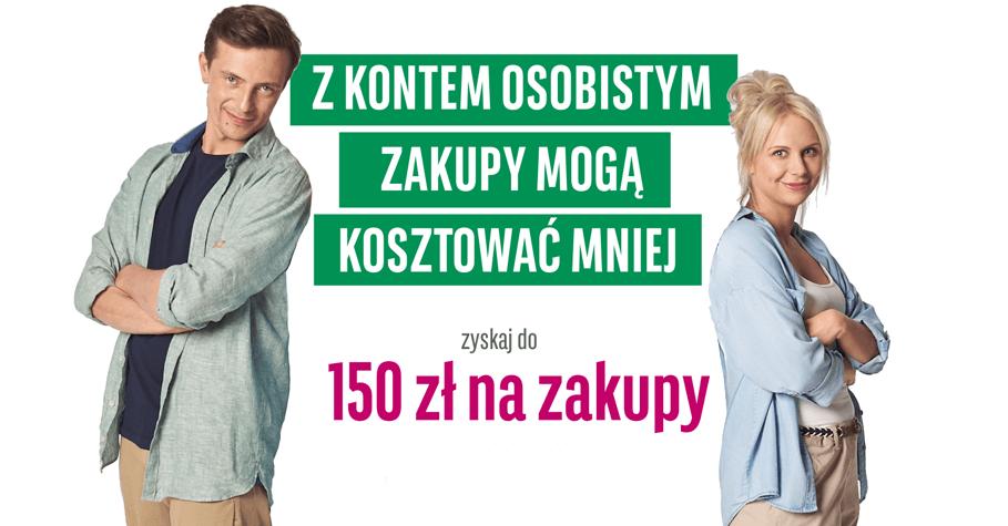 150 zł do Biedronki, Decathlon lub H&M za otwarcie konta w BGŻ BNP Paribas