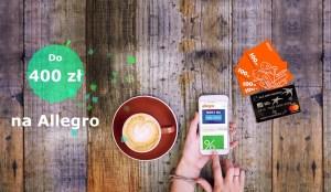Karta kredytowa BGŻ BNP Paribas z kuponem do 400 zł na Allegro